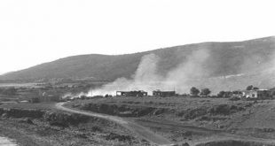11.06.1967 D327-128 HAREL YEHUDA THE VILLAGE OF BANIAS OF THE SYRIAN HEIGHTS.